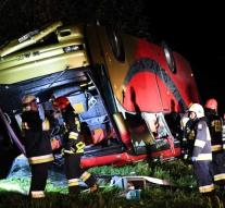 Kill by bus accident Poland