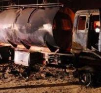 Kill by collision bus and tanker gasoline
