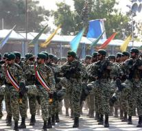 Kill during attack on army parade Iran