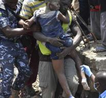 Kill in Lagos, children under debris