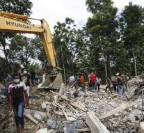 Killed in powerful earthquake Aceh