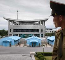 Korea \u0026 # x27; s open liaison office in border village