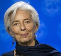 Lagarde continues to support IMF