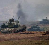 Largest Russian exercise in 40 years