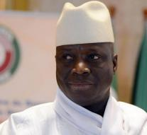 left former President Jammeh Gambia
