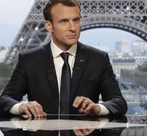 Macron: attack on Syria was necessary