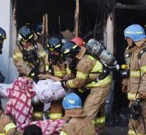 Many people killed in a fire in South Korea hospital