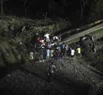 Many people killed in bus accidents in the Philippines