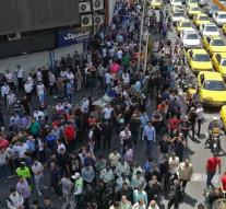 Massive protest against Iran's economic policy