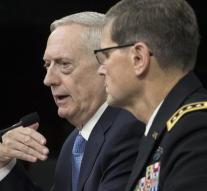 Mattis: military policy unchanged in Syria