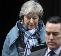 May wants to go back to EU about 'backstop'