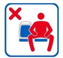 Men are not allowed to spread legs in Madrid buses