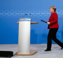 Merkel confirms ambition for fourth term
