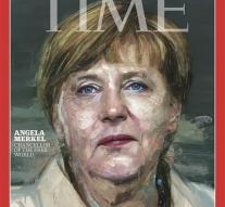 Merkel Time's person of the year