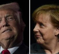 Merkel works to consult with Trump