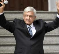 Mexican president without an armed guard