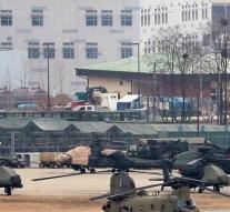 Military exercise US and South Korea started