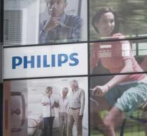 Million claim Philips after pollution