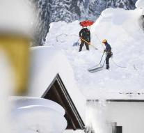 More than 300 German soldiers cleared snow during 'emergency'