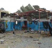 MSF way out of North Yemen hospital after attack