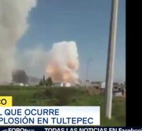 Multiple deaths from fireworks explosions Mexico
