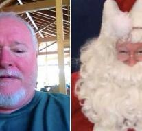 Murderous gardener joined in as a Santa Claus