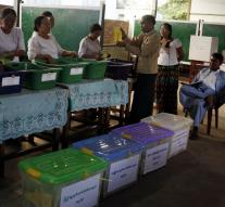 Myanmar elections in good order expired