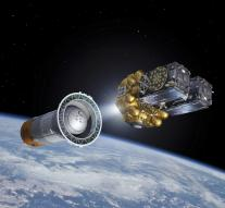 Navigation Satellites Europe to space