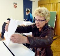 Neck-and-neck race elections Croatia