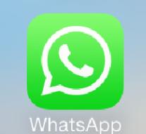 Dutch stand with WhatsApp