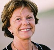 Neelie Kroes moved because of stalker