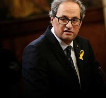 New Catalan government to get started
