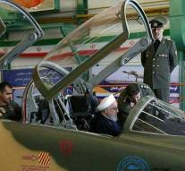 'New, homemade' Iranian fighter plane is copy