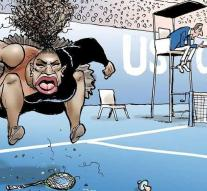 Newspaper furious about riot 'racist' cartoon Serena Williams