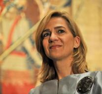 No appeal against acquittal of Infanta Cristina