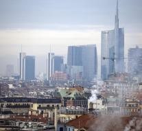 No cars in Milan by air pollution