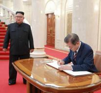 North and South Korea are taking a step towards peace