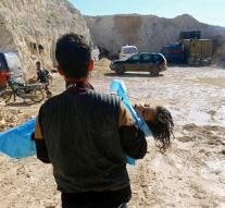OPCW: 45 suspected toxic gas attacks Syria