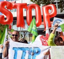 'Organization is counting on massive protest TTIP'