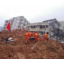 Over 90 missing after landslide China