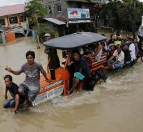 Philippines typhoon death toll rose to 41