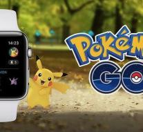 Pokemon Go now Apple Watch