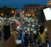 Poland in action against judicial reform