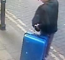 Police disseminates Abedi's picture with a suitcase