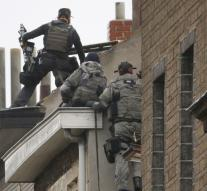 Police raid house in Molenbeek