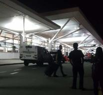 Police shoot man who threatens to explode bomb: airport cleared