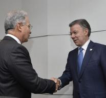 Political leaders to cooperate Colombia