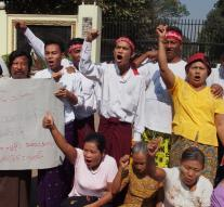 'Political prisoners in Myanmar are released '