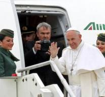 Pope arrived in Egypt