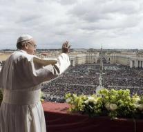 Pope calls for peace in Yemen, Syria and Israel